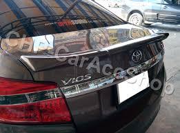 Yaris Sedan 2008 Rear Abs Spoiler Toyota Vios Yaris Sedan 4d 2013 2014 2015 2016