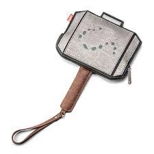 thor s hammer wristlet thinkgeek