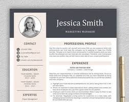 the 25 best modern resume template ideas on pinterest modern