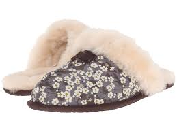 ugg scuffette slippers on sale ugg scuffette liberty in gray lyst