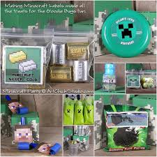 minecraft goody bags minecraft birthday party studio