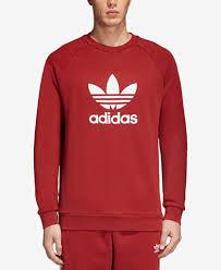 adidas sweater adidas originals s adicolor trefoil crewneck sweatshirt