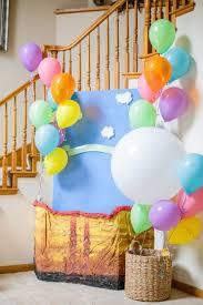 hot air balloon decorations 60 diy hot air balloon birthday party ideas pink lover