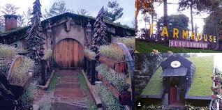 fram house rumah hobbit farmhouse lokasi wisata favorit baru di lembang