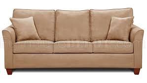 taupe microfiber sofa u0026 loveseat set w optional storage ottoman
