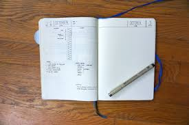 october bullet journal setup u2013 wire and magic