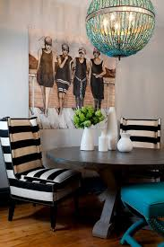 Black And White Striped Dining Chair Black And White Chairs Contemporary Entrance Foyer Artistic