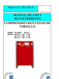compresor de tornillo pdf