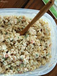 pasta salad with tuna shrimp tuna macaroni salad cozy country living