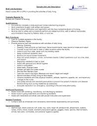 Resume Sample For Nursing Job by 100 Sample Resume For Cna Job No Job Experience Resume