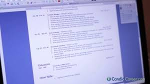 Resume Dos And Donts Ou Career Services Creating A Winning Resume