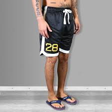 American Flag Workout Shorts Navy Franklin And Marshall Gym Shorts Wehustle Menswear