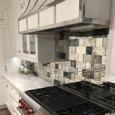 Best Antique Mirror Subway Tiles Images On Pinterest Antique - Mirror tile backsplash