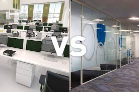 open plan vs enclosed office space procol