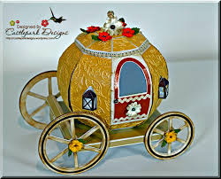 pumpkin carriage 3d pumpkin carriage castlepark designs