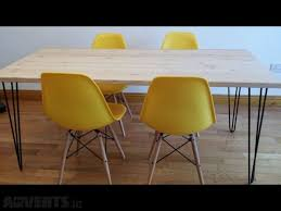 Hairpin Leg Dining Table Hairpin Legs Dining Table For Sale In Lucan Dublin From Niewczas