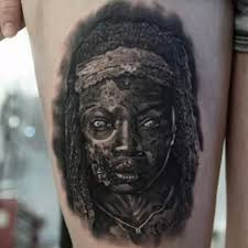 10 more walking dead tattoos to be jealous of tattoo com the