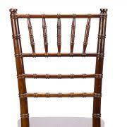 fruitwood chiavari fruitwood chiavari chair silla de madera color nuez oscuro