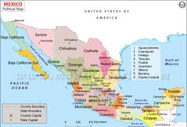 Mexicali Mexico Map by La Botella De Luz By Erinehottle