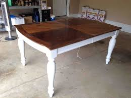 Painting  Staining A Kitchen Table Hometalk - Painting kitchen table