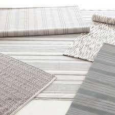 Flat Weave Cotton Area Rugs Dash Albert Aland Stripe Cotton Woven Rug Zinc Door Rug