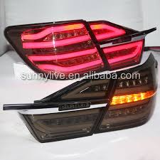 2015 toyota camry tail light for toyota camry 2015 year led rear light smoke black buy camry