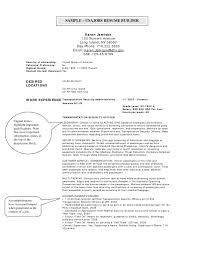 A Job Resume Example by Usajobs Resume Sample Jobs Help