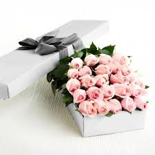 in a box delivery 2 dozen light pink roses in a box delivery to philippines roses