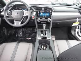 Honda Civic 2010 Interior 2017 New Honda Civic Coupe Touring Cvt At Marin Honda Serving