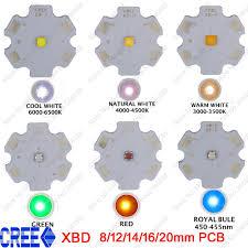 aliexpress com buy 5x cree xlamp xb d xbd q5 warm cold neutral