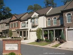 Homes With Elevators by Haynes Park Townhomes In Alpharetta Ga