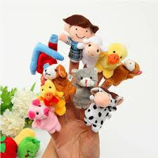 puppets for sale 10 pcs family finger puppets cloth doll baby educational
