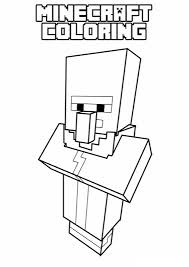 minecraft coloring pages kids print u0026 color