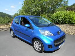blue peugeot for sale peugeot 107 1 0 urban 5 door car for sale llanidloes powys mid wales