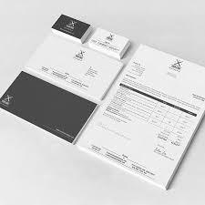 stationery set corporate stationery set on behance