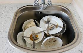 Blog Contract Office Cleaning Company - Dirty kitchen sink