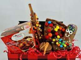 gift baskets for men gift baskets for men chocolate dressed in plaid comes to the