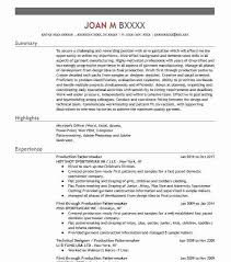 pattern maker resume pattern maker resume sle maker resume resume sles project