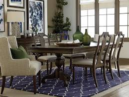 Bassett Dining Room Set by Provence Double Pedestal Dining Table Pedestal Dining Table