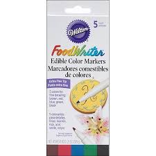 where to buy edible markers food writer tip edible color markers 25oz 5 pkg