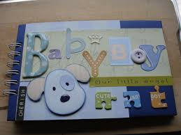 baby boy scrapbook album scrapbooking ideas for a baby boy ehow uk grandbabies scrap