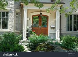 wallpaper beautiful home entrance front doors made of wood stock