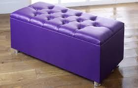 Purple Storage Ottoman Sofa Purple Storage Ottoman Tufted Ottoman Lavender
