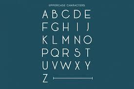 seafarer a beachy art deco font by jo font bundles