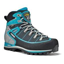 womens walking boots uk asolo shiraz gv walking boots s black blue uttings co uk