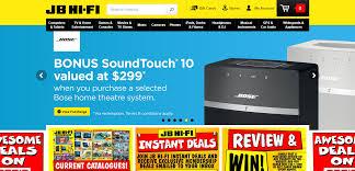 top 20 ecommerce sites in australia