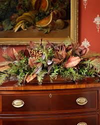 interior u0026 decoration elegant silk floral arrangements for