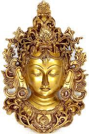 wall masks tibetan buddhist deity wall hanging tara mask