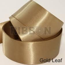 gold satin ribbon luxury satin ribbon single faced satin ribbon