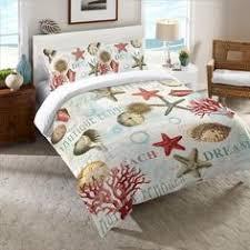 Coastal Comforters Bedding Sets Beach Bedding Comforter Sets Queen Tropical Sea Shell Comforter
